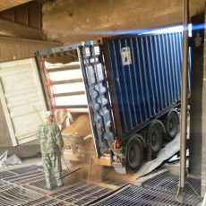 экспорт грузов в контейнерах в одессе